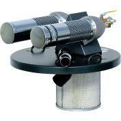 """55 Gallon Dual B Pneumatic Vacuum Generating Head w/ 2"""" Inlet"""