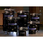 "Guardair 55 Gallon Dual B Pneumatic Vacuum Unit w/ 2"" Inlet & Attachment Kit - N552BC"