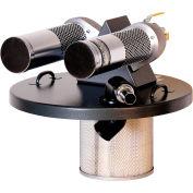 """55 Gallon Dual B Pneumatic Vacuum Generating Head w/ 1.5"""" Inlet"""