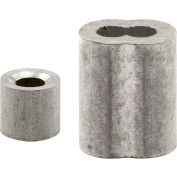 Prime-Line GD 12151 Ferrules and Stops, 1/8-Inch, Aluminum,(Pack of 2)