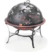 """Good Directions Small Starry Night Fire Pit With Dome FD-1, 23"""" Diameter x  24""""H"""