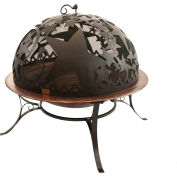 "Good Directions Medium Orion Fire Pit With Dome FD-3, 30"" Diameter x  28""H"