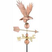 Good Directions Freedom Eagle Weathervane - Polished Copper