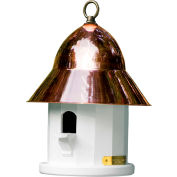 Good Directions Copper Top Bird House w/ Polished Copper Roof