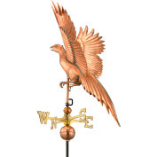 Good Directions Pheasant Weathervane, Polished Copper
