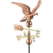 Good Directions Smithsonian Eagle Weathervane, Polished Copper