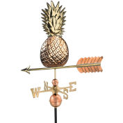 Good Directions Pineapple Weathervane, Polished Copper