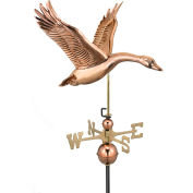 Good Directions Feathered Goose Weathervane, Polished Copper
