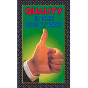 "Quality Thumbs Up Mat - 36"" x 60"""