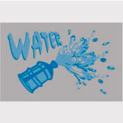"""Water Mat - Blue/Gray 24"""" x 36"""""""