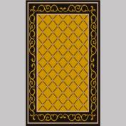 "Decor Mat - Lattice Gold 36"" x 60"""