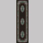 "Decor Mat - Oriental Silver 36"" x 120"""