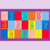 "Numbers English & Spanish Mat - 48"" x 72"""
