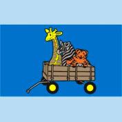 "Animal Wagon Mat - 36"" x 60"""