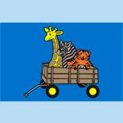 "Animal Wagon Mat - 48"" x 72"""