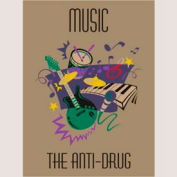 "Music Anti-Drug Mat - 72"" x 96"""