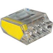 Gardner Bender 10-PC4 Pushgard® Push-In Connector, 4 Port - 100 pieces/Jar - Pkg Qty 5