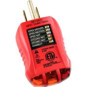 Gardner Bender GFI-3501  GFCI Outlet Tester, 120 Vac