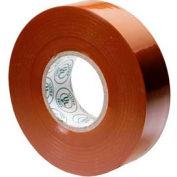 """Gardner Bender GTN-667P Electrical Tape, 3/4"""" X 66' X 7 Mil, Brown, Puck"""