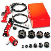 """Gardner Bender 1/2"""" - 2"""" Hydraulic Slug-Out™ Set With Pf65 Foot Pump"""