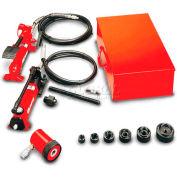 "Gardner Bender 1/2"" - 2"" Hydraulic Slug-Out™ Set With Ph20 Hand Pump"