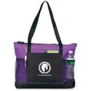 Custom Tote Bags - Select Zippered Tote