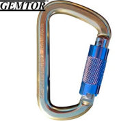 """Gemtor 5107, Carabiner - Aluminum - Auto Lock - 3/4"""" Gate"""