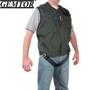 Gemtor 846377-2, Vest Full-Body Harness - Green - CSA - Medium