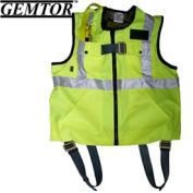 Gemtor 846427-3, Vest Full-Body Harness - Hi-Viz Yellow - Large