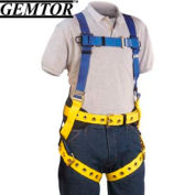 Gemtor 855-4, Full-Body Harness - XL - Quick Connect Chest