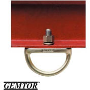 Gemtor AD-1, Anchor D-Ring - w/ Stud, Nut & Washer
