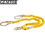 Gemtor D11ELYZ6, Decelerator II Stretch Energy Absorbing Lanyard, 6 ft.