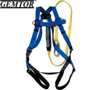 Gemtor VP516-2, Universal Harness w/ Attached Energy Absorbing Lanyard - 6'