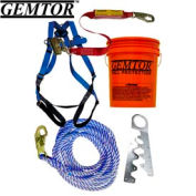 Gemtor VP801-2. Roof Kit - Single Use Anchor - 40' Rope