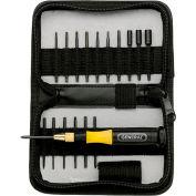 General Tools 63518 18pc Precision Ultratech Screwdriver Set - Pkg Qty 12