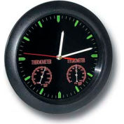 General Tools CMOR11 Analog Wall Clock With Temperature & Humidity