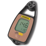 General Tools DAF3300 Mini Airflow Temp Meter with Windchill & Compass