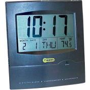 Jumbo Display Wall Clock w Calendar