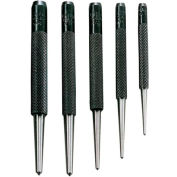 General Tools Spc74 5pc Round Shank Center Punch Set - Pkg Qty 6