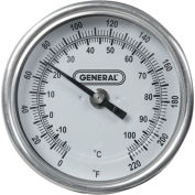 General Tools T300-36 Long-Stem Agricultural Thermometer (220ºF)