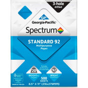"Copy Paper - Georgia Pacific® Spectrum 999813 - 8-1/2"" x 11"" - 92 lb. - White - 5000 Sheets"