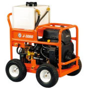 """General Wire JM-3080-A Gas Water Jet Drain/Sewer Cleaning Machine W/250'x3/8"""" Hose & 4 Pc Nozzle Set"""