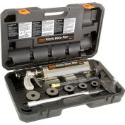 """General Wire KR-A-WC Kinetic Water Ram w/ 4"""" Cone, (5) Plugs, Caulking Hose & Carrying Case"""