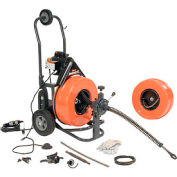 """General Wire PS-92-A Power Feed Floor Machine, 100'x3/4"""" & 100'x1/2"""" Cables & Cutter Set"""