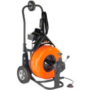 """General Wire PS-92-E Speedrooter 92 Drain/Sewer Cleaning Machine W/ 100' x 5/8"""" Cable & Cutter Set"""