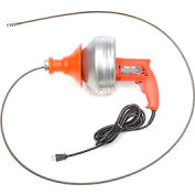 """General Wire SV-F Super-Vee Drain/Sewer Cleaning Machine W/ 25' x 1/4"""" Cable"""