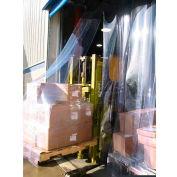 "Goff's 5'W x 8'H Strip Door with Universal Hardware - 8"" Strip Width"