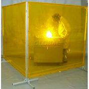 Goff's Welding Screen - 6'W x 8'H - Red