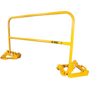 Guardian 15204, 6' L Rail With Multi-Directional Base Plate Kit