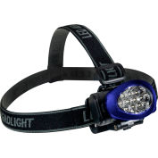 GoGreen Power, 10 LED Headlamp, GG-113-10HLBL, Blue